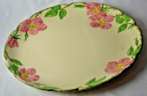 """Vtg USA California Franciscan Desert Rose 12"""" Round Platter"""