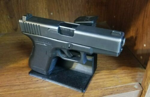 Pistol & Magazine Stand for Glock 17, 19 and 26 Handgun. Gun Storage Holder.