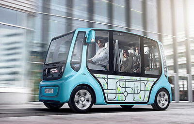 microMAX Concept Car Turns Commuting into Urban High-Tech Swarm