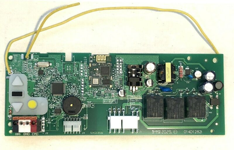 Chamberlain LiftMaster 050ACTWF 315MHz Security+ 2.0 Logic Board Yellow Button