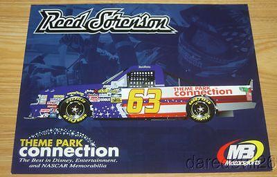 2016 Reed Sorenson Theme Park Connection Chevy Silverado NASCAR CWTS - Nascar Theme