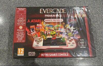 Evercade Premium Pack SEALED +3 game collections (Atari, Namco, Interplay pack)