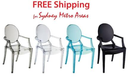 set of 5 philippe starck chairs dining chairs gumtree australia