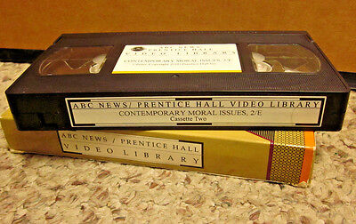 Contemporary Moral Issues Lawrence Hinman Vhs Ethics Abc News Texaco In Amazon