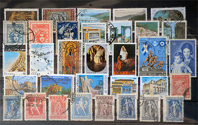 Greece-Lot stamps (ST412)