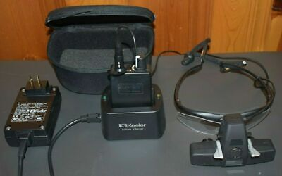 Keeler Spectra Plus Spectacle Mounted Led Indirect Ophthalmoscope New Battery
