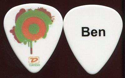BEN HARPER 2012 Give Tour Guitar Pick!!! Ben's custom concert stage Pick