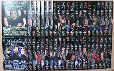 Stargate die Offizielle DVD u. Magazin Sammlung alle 90 Hefte mit DVD