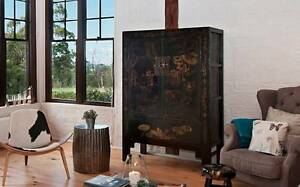Antique Chinese Bridal Cabinet Balnarring Mornington Peninsula Preview