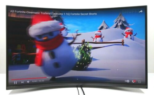 """Samsung T55 Series 32"""" LED 1000R Curved FHD FreeSync Gaming Monitor C32T550FDN"""