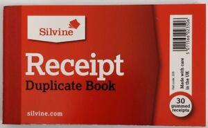 sales receipt books