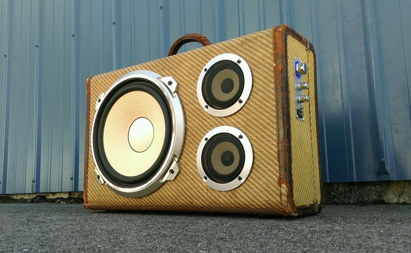 How to Build a Suitcase Boombox | eBay
