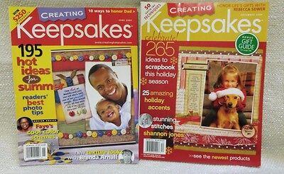 2 Creating Keepsakes Magazine Scrapbook Paper Craft Card Making 160896