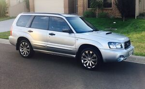 2003 Subaru Forester XT Turbo, Low klms Raby Campbelltown Area Preview