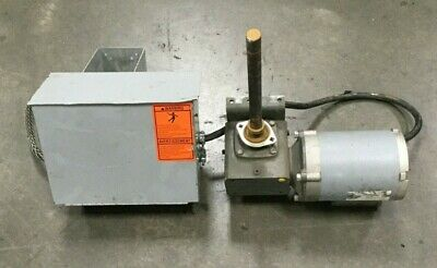 Liftech Motor Gear Drive .92 Hp 201 Ratio 461 In. Lbs W Electrical Box