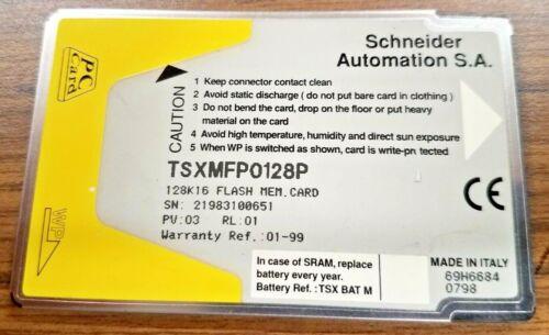 Schneider Memory Card TSXMFP0128P