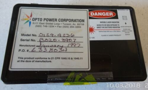 Opto Power  Laser Diode Bar 30W 780nm-1000nm