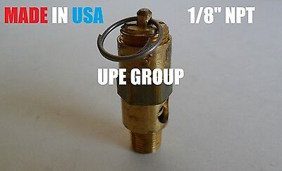 18 Air Compressor Safety Relief Pop Off Valve 150 Psi