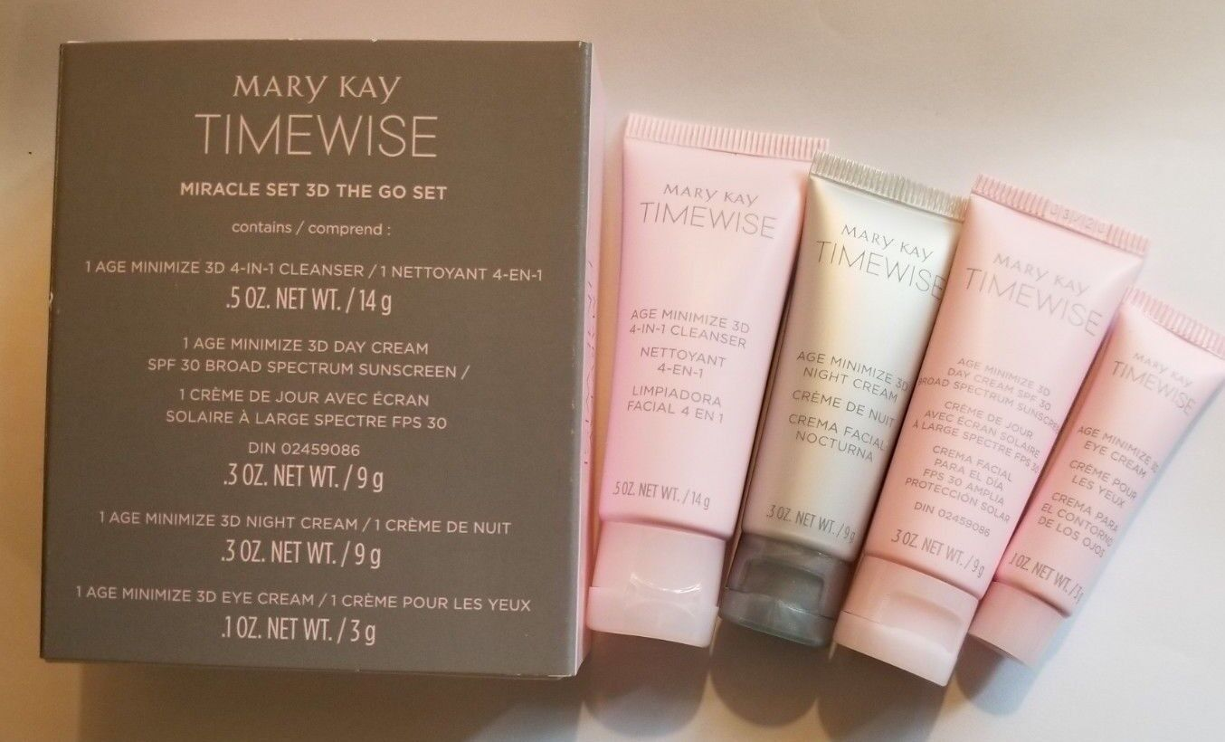MARY KAY Timewise Miracle Set 3D Normal to Dry  NIB exp 01/2