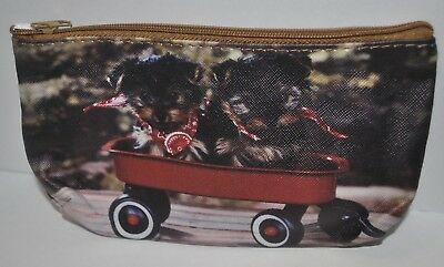 Yorkie Yorkshire Terrier Dog Doggy Puppy Pup Coin Purse Pouch Wallet NEW Yorkshire Terrier Wallet