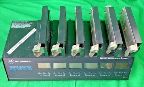 Motorola Battery Maintenance System Plus WPLN4079BR w/ ports
