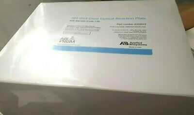 Abi Applied Biosystem Prism 4309849 Microamp Optical 384-well Plate W Barcode