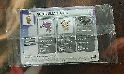 OtBG Gentleman Nils 2003 Pokemon E-reader EX Promo Battle Scan Card Sealed