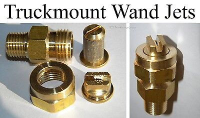 Carpet Cleaning - Truckmount Wand Jets Assembly Set Of 2
