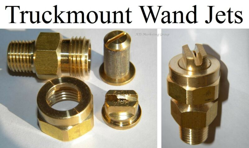 Carpet Cleaning - Truckmount Wand Jets Assembly (Set Of 2)