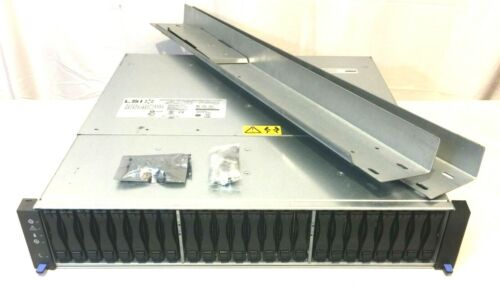 """24-Bay Direct Attached JBOD Quad 6Gbps 2.5"""" SAS SSD HDD Linux ZFS FreeNAS Win 10"""