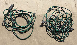 Like new outdoor extension cords