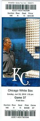 2013 Royals vs White Sox Ticket: George Kottaras, Jarrod Dyson & Adam Dunn HRs