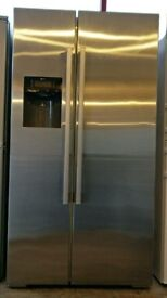 Neff Stainless Steel American Fridge Freezer ***FREE DELIVERY***3 MONTHS WARRANTY***