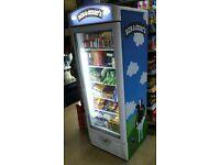 Ben & Jerry's ice cream display freezer