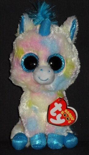 """TY BEANIE BOOS - BLITZ the 6"""" UNICORN - MINT with MINT TAGS"""