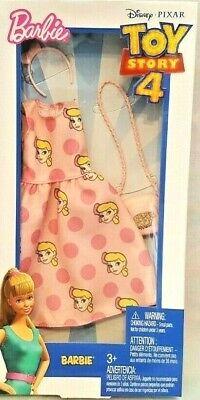 Barbie Disney Pixar TOY STORY 4 Little Bo Peep Fashion Pack Dress Accessories  (Little Bo Peep Accessories)