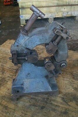 Heavy Duty Lathe Cylindrical Grinder Steady Rest Roller Finger Cincinnati P1