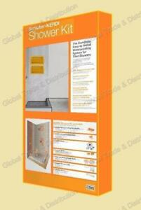 Schluter Systems Kerdi Shower Kit - All Sizes / Type / Models ( you can choose your grate finish )