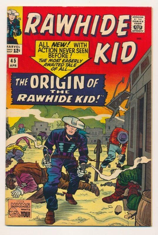 MARVEL  RAWHIDE KID 1965 #45 VF/NM CONDITION WONDERFUL COLOR