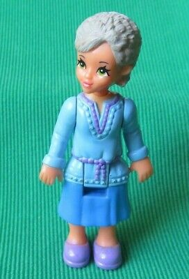 Fisher Price SWEET STREETS GRANDMA dollhouse DOLL RARE loving family