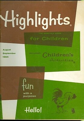 1964 Highlights for Children Magazine: Hindu Birthday/Pony Colt/Pablo Casals