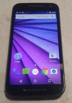 Motorola Moto G 3Rd Gen Xt1548 8Gb Black  Virgin Mobile  Good Condition Function