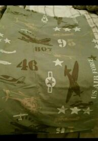army curtains from next