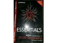Lonsdale Essentials AQA Specification A GCSE Geography Revision Guide.