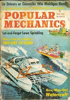 1963 Popular Mechanics Magazine: New Watercrafts/Lawn Sprinkling/2-Way CB Radio