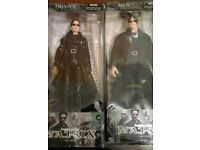 Neo and Trinity Matrix Figures N2Toys