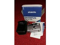 Olympus 35mm camera with case and boxed