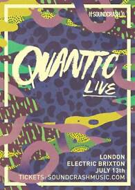 2 x Quantic Live Tickets Electric Brixton 13th July