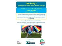 FREE Real Play Taster Session at The Maple Tree Children's Centre in Wheatley, OX33 1NW