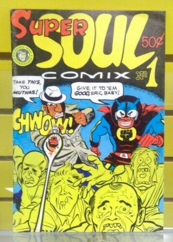 Super Soul Comix #1 Kitchen Sink Enterprises 1972 Underground Comic